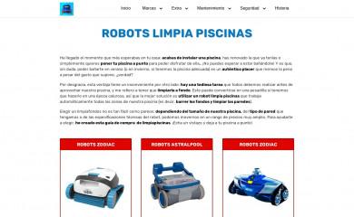 robotspiscina.es screenshot