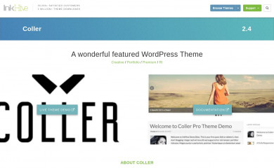 https://rohitink.com/2013/09/11/coller-wordpress-theme/ screenshot