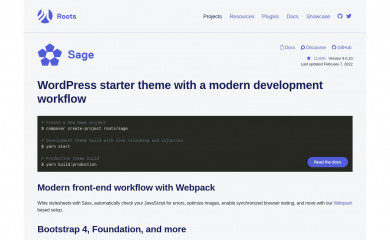 http://roots.io/starter-theme/ screenshot