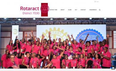 rotaract7030.org screenshot