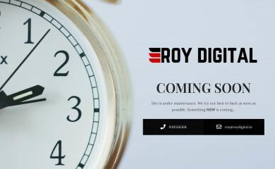 roydigital.in screenshot
