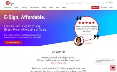 rsign.com screenshot