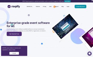 rsvpify.com screenshot