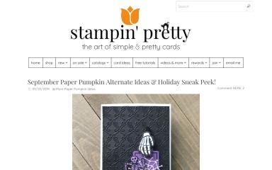http://stampinpretty.com screenshot
