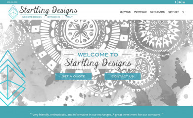 http://startlingdesigns.com screenshot