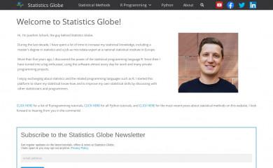 statisticsglobe.com screenshot