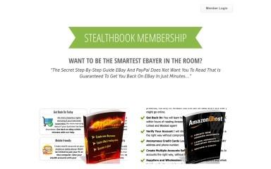 stealthbook.com screenshot