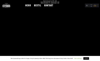 http://stefanospizza.dk screenshot