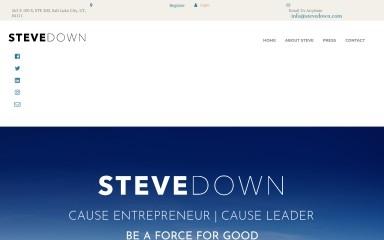 stevedown.com screenshot
