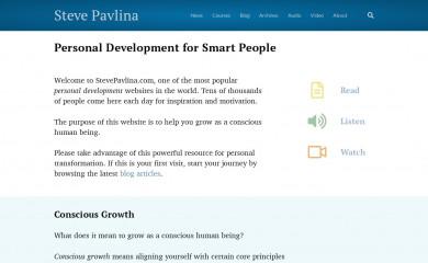 stevepavlina.com screenshot