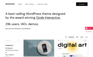 https://stockholmlanding.qodeinteractive.com/ screenshot