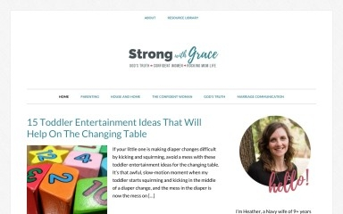 http://strongwithgrace.com screenshot