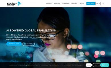 strakertranslations.com screenshot
