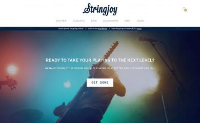 stringjoy.com screenshot
