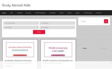 studyabroadaide.com screenshot