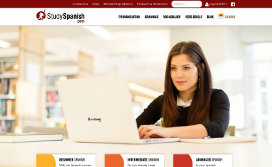 studyspanish.com screenshot