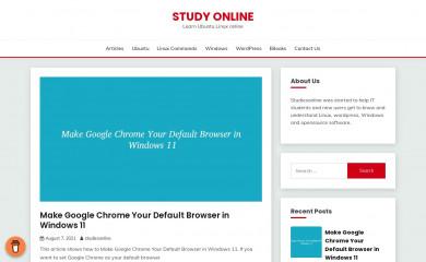 studiesonline.in screenshot