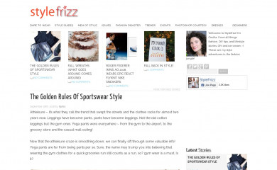 stylefrizz.com screenshot