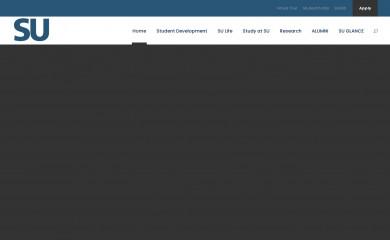 su.edu.eg screenshot