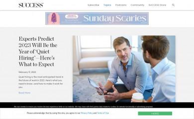 success.com screenshot