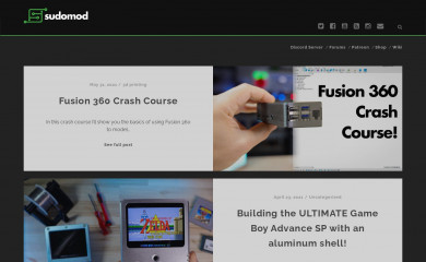 sudomod.com screenshot