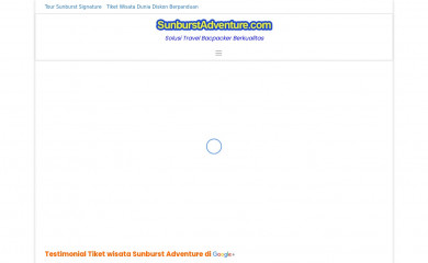 http://sunburstadventure.com screenshot