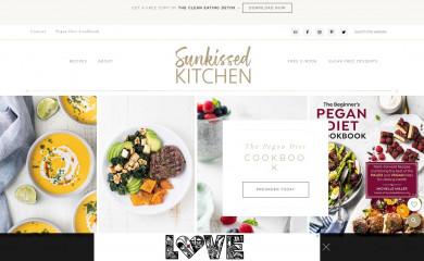 http://sunkissedkitchen.com screenshot