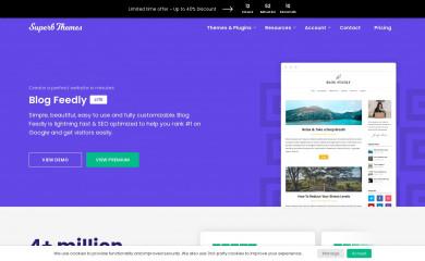 BlogFeedly screenshot