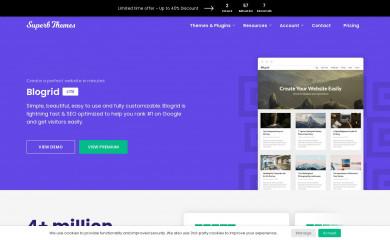 Blogrid screenshot