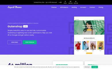 Gutenshop screenshot