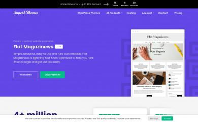 FlatMagazinews screenshot