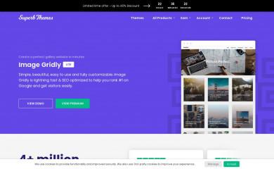ImageGridly screenshot