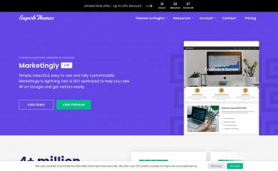 https://superbthemes.com/marketingly/marketingly-info/ screenshot