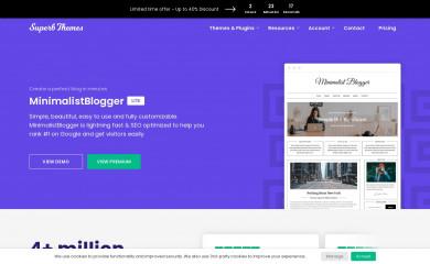 MinimalistBlogger screenshot