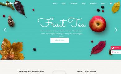 http://superfood.elated-themes.com screenshot