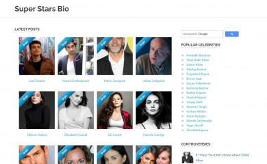 superstarsbio.com screenshot