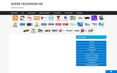 supertelevisionhd.com screenshot