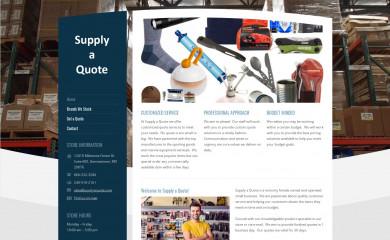 supplyaquote.com screenshot