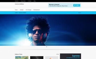 Supreme screenshot