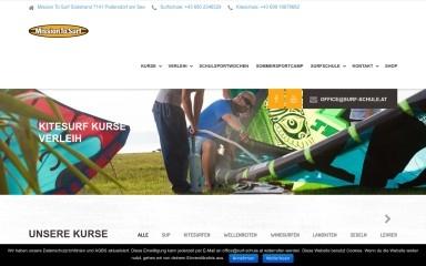 surf-schule.at screenshot