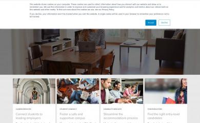 symplicity.com screenshot