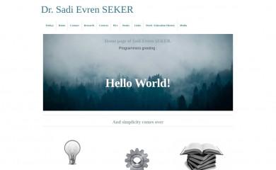 sadievrenseker.com screenshot