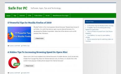 safeforpc.com screenshot