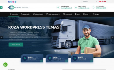 Safir Koza Wordpress Teması screenshot