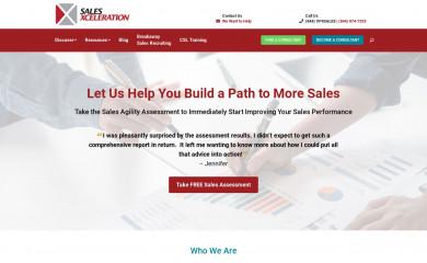 http://salesxceleration.com screenshot