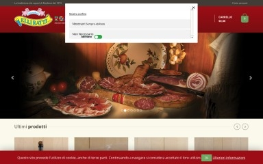 salumificioratti.it screenshot