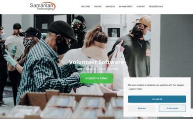 samaritan.com screenshot