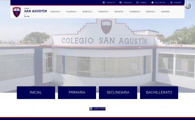 sanagustinchiclayo.edu.pe screenshot
