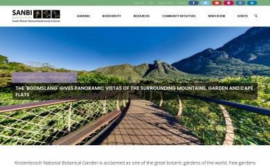 http://sanbi.org screenshot