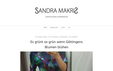sandra-makris.de screenshot